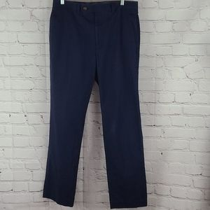 Lauren Ralph Lauren mens navy blue cotton pants